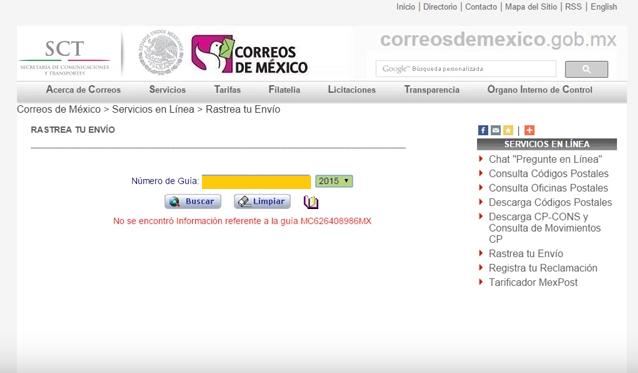 Como rastrear guias en Correos de Mexico y Sepomex | Aldeahost Blog