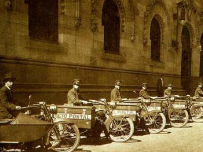 carteros en Mexico-historia