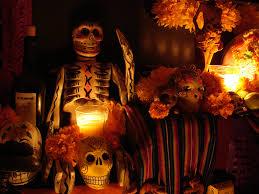 Celebracion de dia Muertos y Halloween