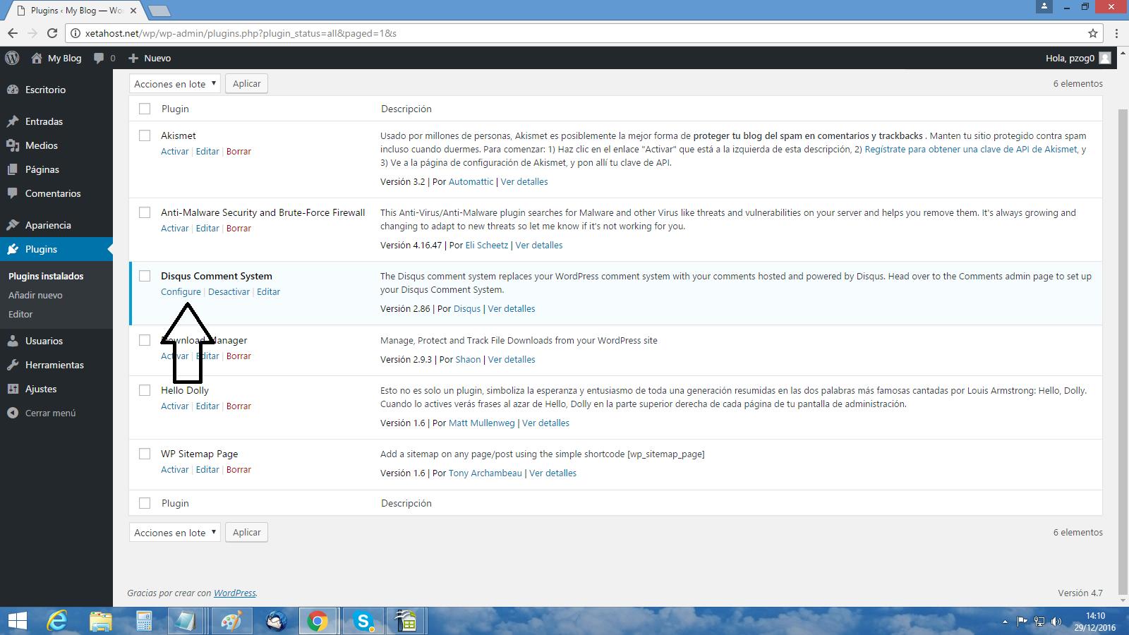 Cómo instalo Disqus en WordPress 1